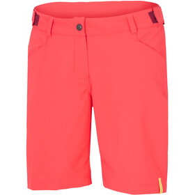 Ziener Colodri X-Function Shorts Women red cheek